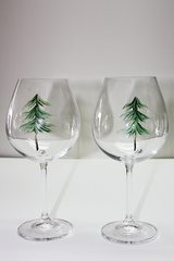 Evergreen - set of 2 red wine goblets