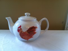 Chicken teapot - one of a kind