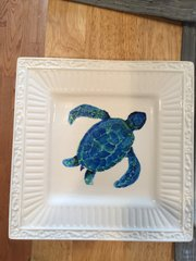 Small Turtle Plate