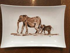 Large Elephant Platter