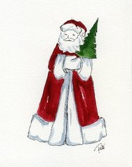Santa Notecards (set of 8)