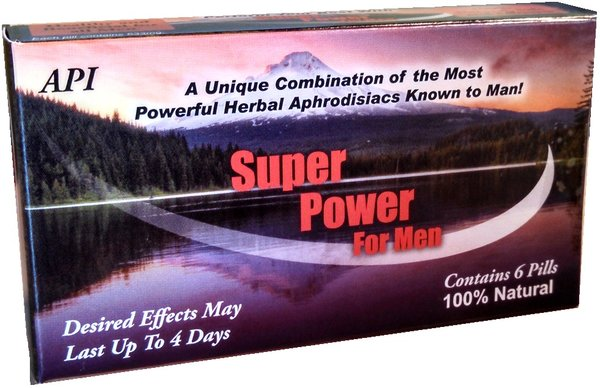 Super Power For Men 6 Count Male Enhancement Herb Shop