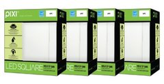 """OPEN BOX - 4 PACK PIXI Square Can Retrofit for 5"""" & 6"""" recessed cans"""