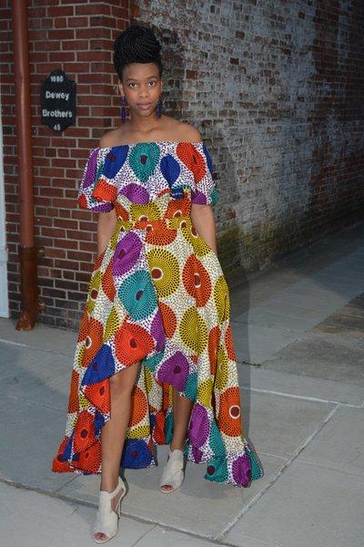 Cheza Ruffle Dress
