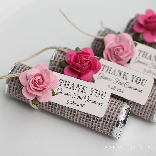 First Communion Favors Baptism Favors Thank You Party