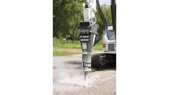 Breaker, Hydraulic Attachment (Bobcat)