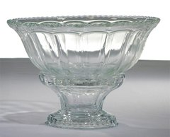 Serving Bowl, Glass w/ Base (3-GAL)
