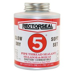 Pipe Thread Sealant, Rectorseal 5