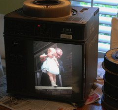Slide Projector, TV Style