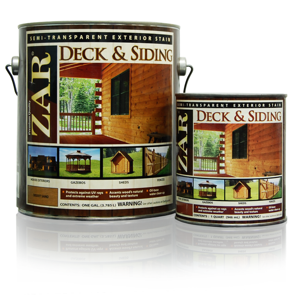 Exterior Stain Zar Deck Siding Semi Transparent Exterior Stain Gallon Anderson Rentals