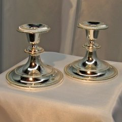 Candlestick, Brass (Single)