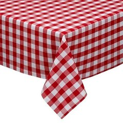 "Tablecloth, Rectangle 60"" x 120"" Gingham Checked"