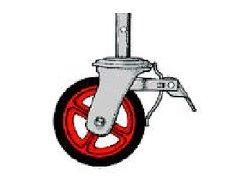 "Wheel, Scaffold 8"""