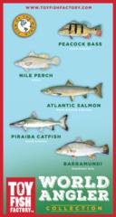 World Angler Toy Fish Set