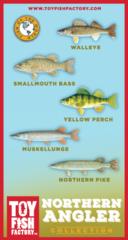 Northern Angler Toy Fish Set