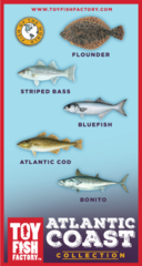 Atlantic Coast Toy Fish Set