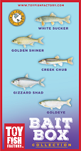 Bait Box Toy Fish Set