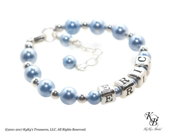 in blue bracelet by silver and a boy chord jewellery am sterling the en i sky identity bracelets