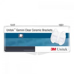 3M Unitek Gemini Clear Ceramic Brackets