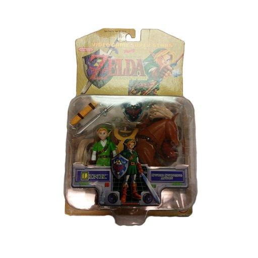 Legend of Zelda Ocarina of Time Video Game Super Stars Link Action Figure