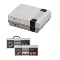 NES Complete System with 2 Controllers