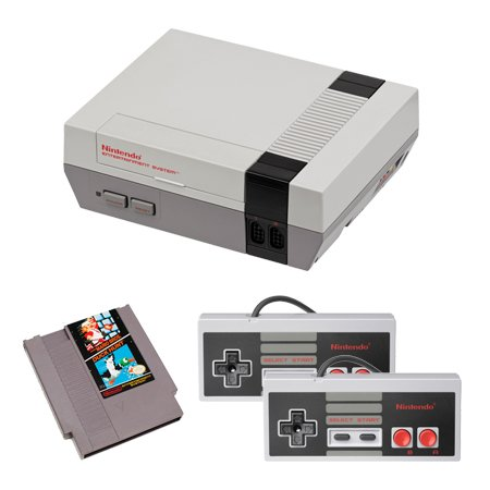 NES Complete System with Mario and Duck Hunt and 2 Controllers