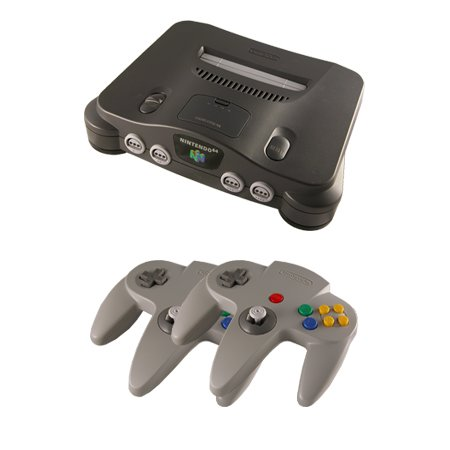 N64 Complete System with 2 Controllers