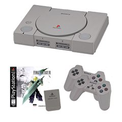 Playstation 1 Complete System with Final Fantasy VII, 2 Controllers and 1 Memory Card