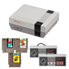NES Complete System with Mario 1,2 and 3 and 2 Controllers