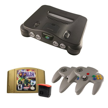 N64 Complete System with Majora's Mask, an Expansion Pak and 2 Controllers