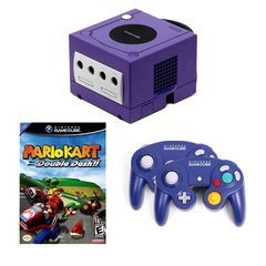 Gamecube Complete System with 2 Controllers and Mario Kart Double Dash