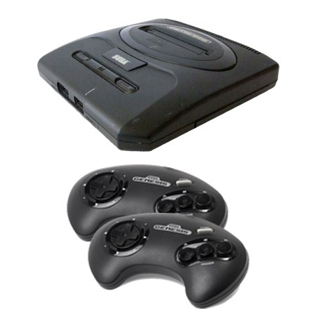 Sega Genesis Complete System with 2 Controllers