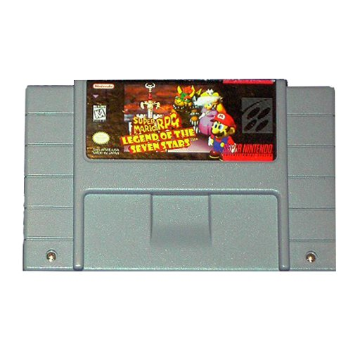 Super Mario RPG Legend of the Seven Stars (SNES)
