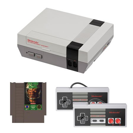 NES Complete System with Tecmo Bowl and 2 Controllers