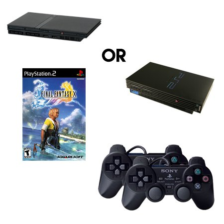 Playstation 2 Complete System with Final Fantasy X and 2 Controllers