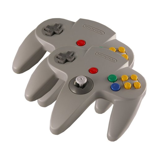 2 N64 Controllers (Essential for Mario Kart)