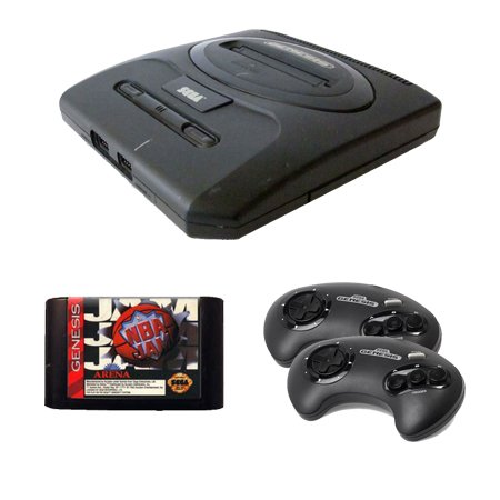 Sega Genesis Complete System with NBA Jam and 2 Controllers