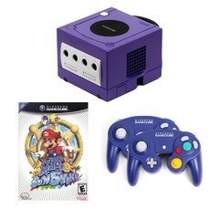 Gamecube Complete System with 2 Controllers and Super Mario Sunshine