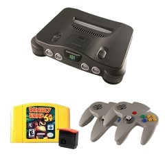 N64 Complete System with Donkey Kong 64, an Expansion Pak and 2 Controllers