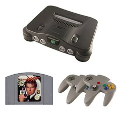 N64 Complete System with GoldenEye 007 and 2 Controllers