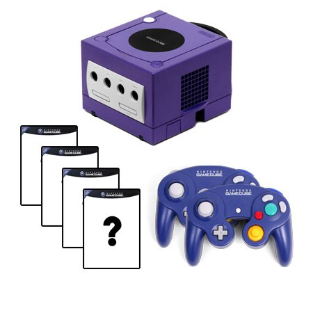 Gamecube Complete System with 4 Random Games and 2 Controllers