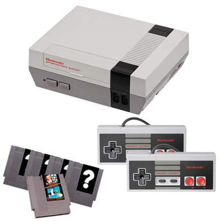 NES Complete System with Mario/Duck Hunt, 4 Random Games and 2 Controllers