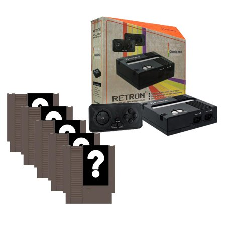 Retron 1 Retro Gaming System with 5 Random Games