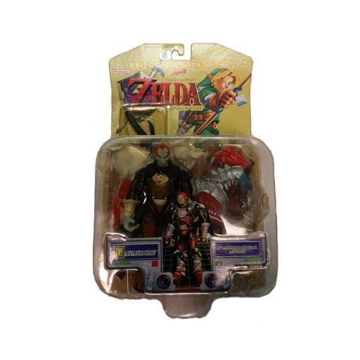 Legend of Zelda Ocarina of Time Video Game Super Stars Ganon Action Figure