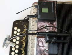 AMT ACCX-W (Single mic wireless setup for smaller sized accordions.)