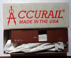 ACCURAIL 5398 50 FT UNDEC COMBO BOXCAR HO SCALE
