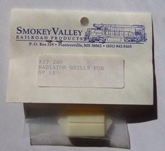 SMOKEY VALLEY GP 15 RADIATOR GRILL 2 PCS IN PKG. HO SCALE
