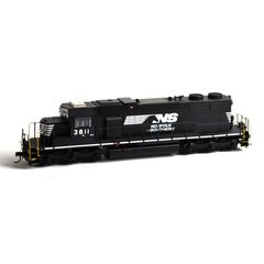 ATHEARN R-T-R NORFOLK SOUTHERN #3811 EMD SD38 WITH DCC INSTALLED