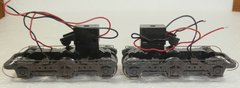 PROTO 2000 HO EMD HTC STYLE UP GRAY POWER TRUCKS SD50/60