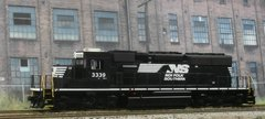 ATHEARN R-T-R #98238 NORFOLK SOUTHERN #3339 EMD SD40-2 WITH NCE DCC INSTALLED